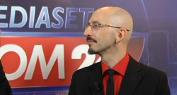 [Vidéo] Interview Tgcom24 Mediaset (3 oct. 2013)