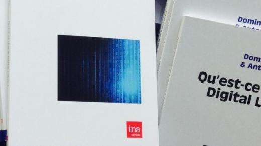 Nouvel ouvrage : Qu'est-ce que le digital labor? (INA Editions)