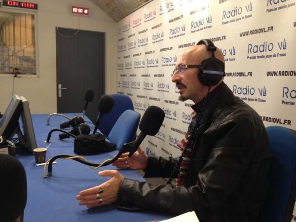 Grand entretien : Antonio A. Casilli sur Radio VL (11 oct. 2015)