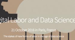 [Video] Making sense of digital platform labor, in Paris (21 Oct. 2016)