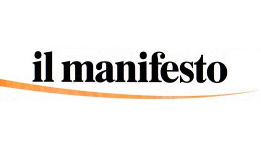 Intervista ne Il Manifesto (20 sett. 2020)
