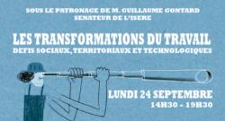 """[Video] Intervention à la conférence """"Les transformations du travail"""" (Sénat, 24 sept. 2018)"""
