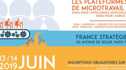 """[Compte Rendu + Podcast + Vidéo] Colloque INDL """"Les plateformes de micro-travail"""" (Paris, 13-14 juin 2019)"""