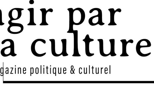 Grand entretien dans Agir Par La Culture (Belgique, 23 oct. 2019)