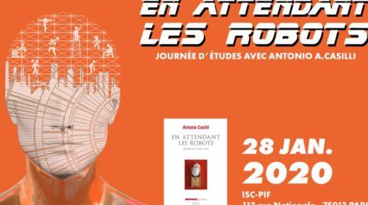 """Journée d'études """"En attendant les robots"""" (28 janv. 2020)"""