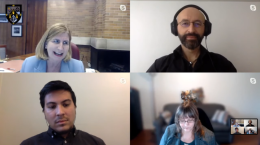 [Video] Massey Dialogues (University of Toronto, 29 Apr. 2020)